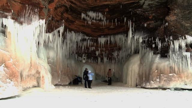 Ice Caves of Lake Superior