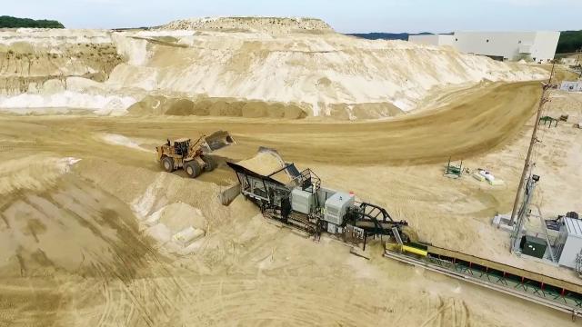 Technology & Engineering of Sand Mining