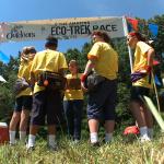 Eco trek racers begin