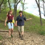 kids hike trail